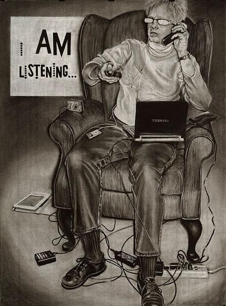 Portrait of the Artist as an Arrogant American: I AM Listening