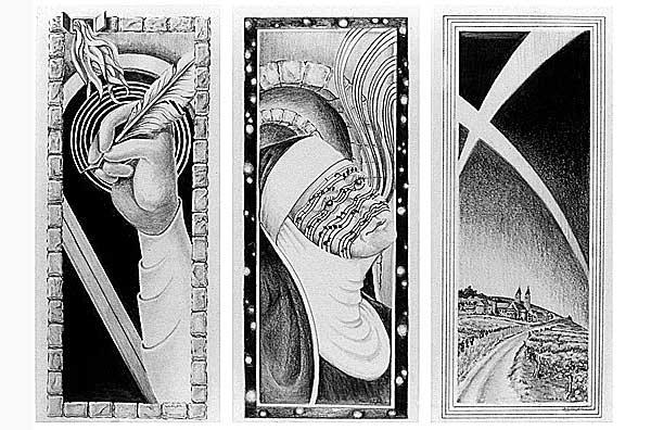 Spirited Quill, Tattooed Nun & Mystic Vault