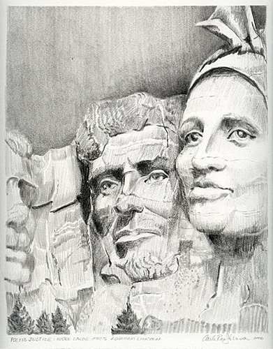 Poetic Justice: Audre Lorde meets Abraham Lincoln