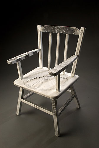 Galileo's Baby-Chair . sculpture