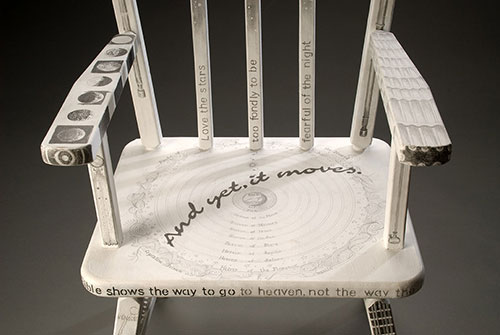 Detail: Galileo's Baby-Chair . sculpture . 2014